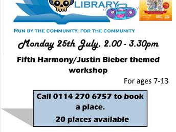 Street Dance workshop -  Monday 25th July, 2pm - 3:30pm