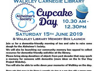 Alzheimer's Society Cupcake Day, Saturday 15 June 2019