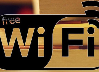 Free Wi-Fi in the Library