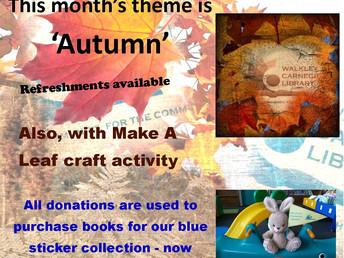 Autumn book sale, Saturday 24 September 2016
