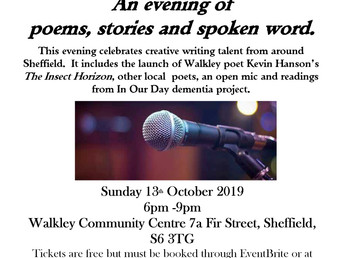 Walkley Wordsmiths, 13 October 2019
