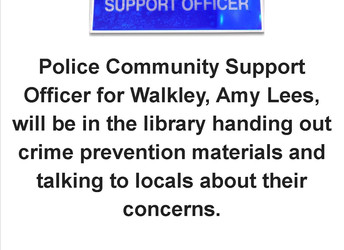 Police Community Support Officer, Saturday 18 May 2019