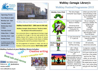Walkley Library Festival