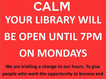 New closing time on Mondays