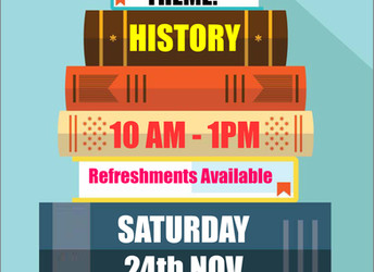 Book sale, Saturday 24 November 2018