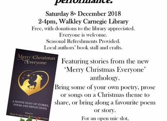 Walkley Words, Saturday 8 December 2018