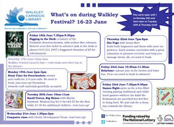 Walkley Festival, 16-30 June 2017