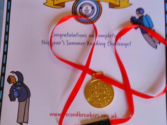 Summer Reading Challenge Medal Ceremony