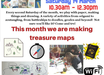 Paper Pastimes, Saturday 14 March