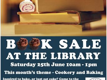 Book sale, Saturday 25 June 2016