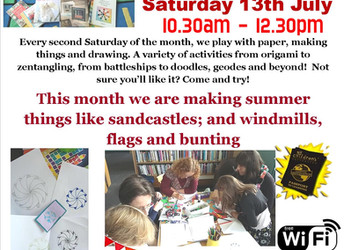Paper Pastimes, Saturday 13 July 2019