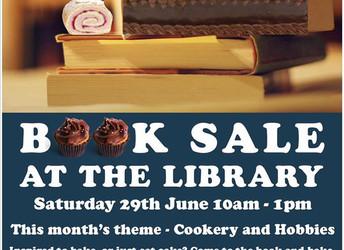 Book sale, Saturday 29 June 2019