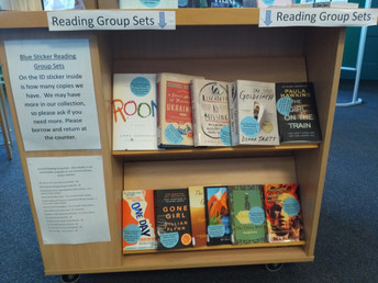 Blue Sticker collection & Reading groups