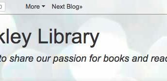 Walkley Library Blog