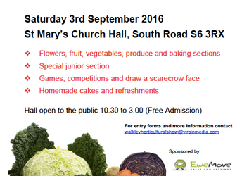 Walkley Horticultural Show 2016