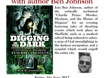 Author visit, Friday 16 June 2017: Ben Johnson