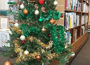 The Library goes festive