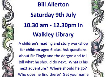Reading and story workshop for children - Saturday, 9 July 2016