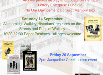 Heritage Open Days at Walkley Library