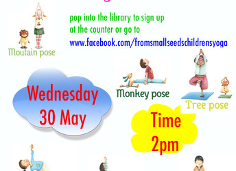 Half-term yoga fun, Wednesday 30 May 2018