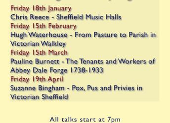 Spring series of Walkley Historians talks 2019