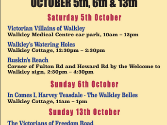 Walkley History Walking Festival, October 2019