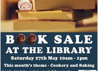 Book sale, Saturday 27 May 2017