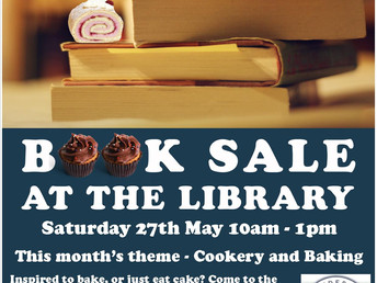 Book sale, Saturday 27 May 2017