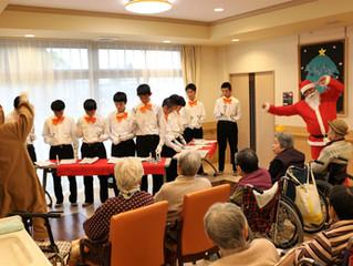 松山中学校「ハンドベル演奏会」