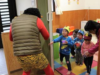 ひまわり保育園の子どもたち