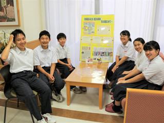 玉井中学校「職場体験」7/3~5