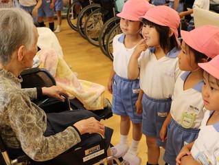 聖ルカ幼稚園との交流会