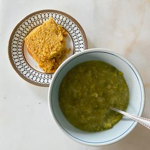 Spring Split Pea Soup
