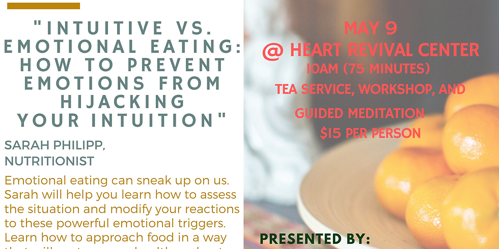 Intuitive VS Emotional Eating