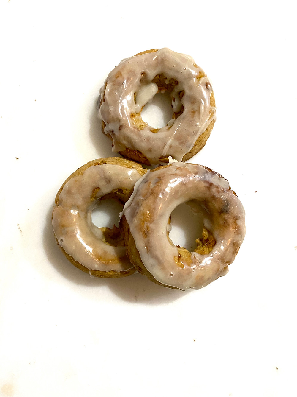 Gluten free glazed donuts