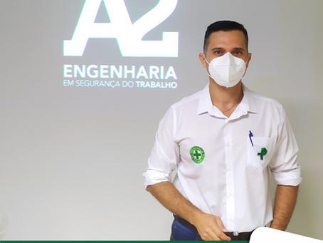 ABRIL VERDE: Mês de prevenção de acidentes e doenças do trabalho.