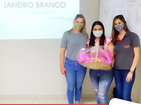 JANEIRO BRANCO: Sanna Alimentos ressalta a importância do cuidado com a saúde mental.