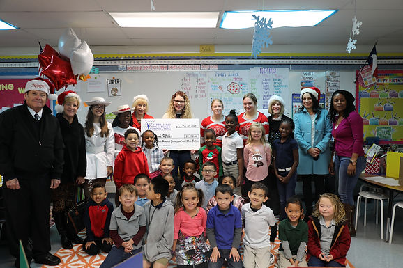 Christmas comes early for seven dedicated teachers