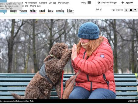 Intervju med Klar Tale - Lærer hunder å bli gode hjelpere