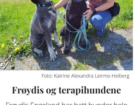 Frøydis og terapihundene