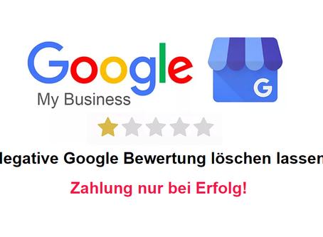 Wie sollten Sie eine Google Bewertung löschen lassen
