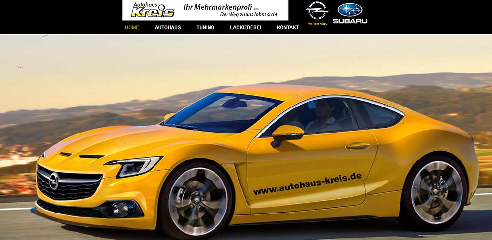 Opel Autohaus Kreis Fulda-Großenlüder by lema webdesign