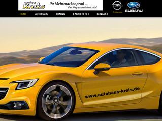 Opel Autohaus Kreis im neuen Glanz
