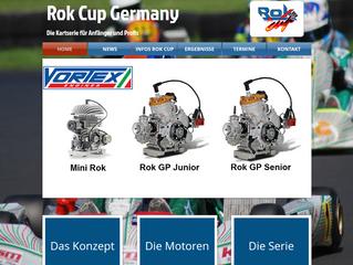 Neue Webseite für den Rok Cup Germany