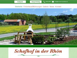 """Neue Webseite für """"Ferienhof Weichlein"""""""