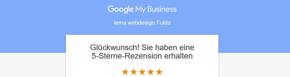 Google Bewertung erhalten
