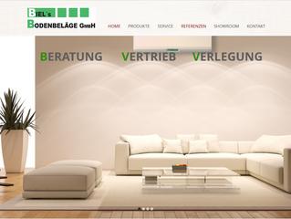 Webseite für Biel's Bodenbeläge jetzt online