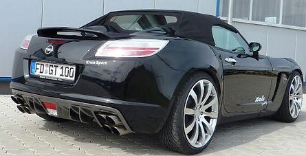 Opel Autohaus Kreis Fulda Großenlüder Opel GT Tuning Auspuffsystem