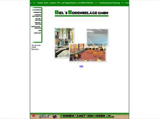 Neue Homepage für Biel's Bodenbeläge