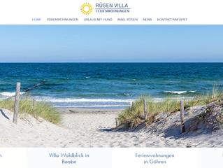 Neue Webseite für Rügenvilla, bringt 20% mehr Umsatz
